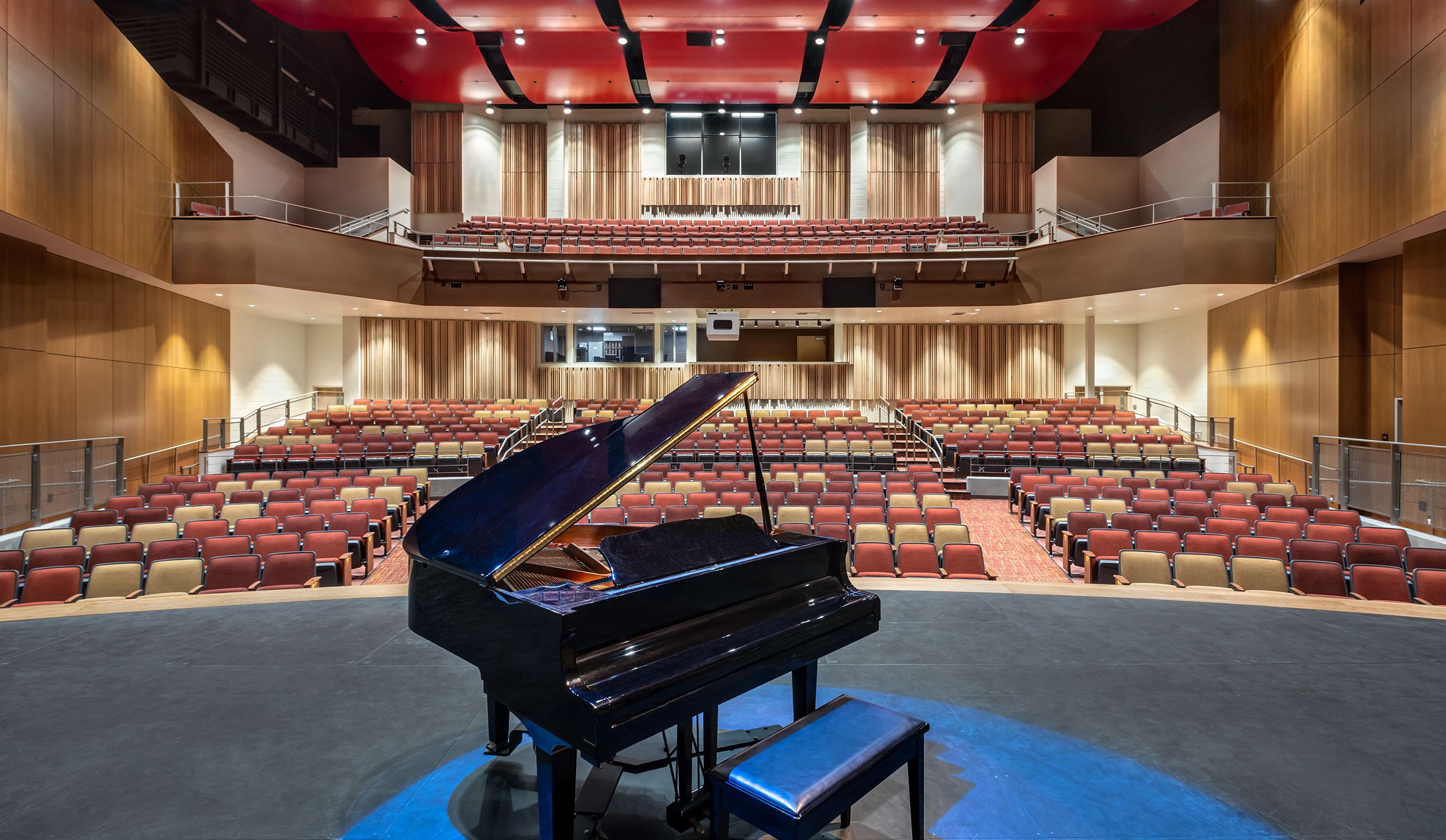 Woodbridge High School Performing Arts Building